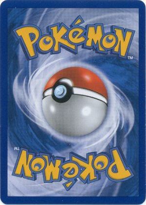 Pokémon Trading Card Game - Pokémon Trading Card Game cardback