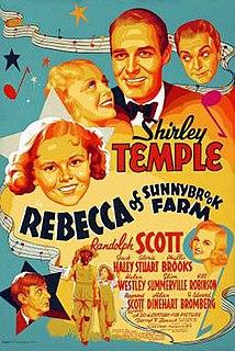 <i>Rebecca of Sunnybrook Farm</i> (1938 film) 1938 film by Allan Dwan
