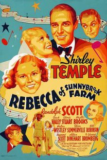 Poster of Rebecca of Sunnybrook Farm (1938 film).jpg