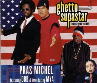 Pras Michel featuring Ol' Dirty Bastard and Mýa - Ghetto Supastar (studio acapella)