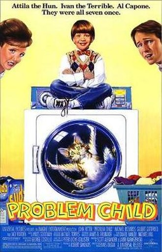 Problem Child (film) - Theatrical release poster