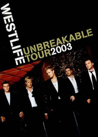 Unbreakable Tour (Westlife concert tour) - Tour programme