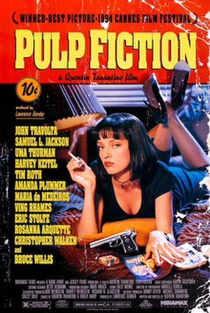 Pulp Fiction - Theatrical release poster