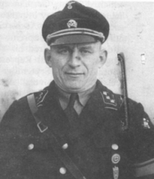 Syrets concentration camp - Paul Otto Radomski, commandant of Syrets concentration camp, 1943–44