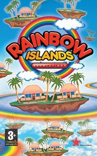 Rainbow Islands Evolution - Image: Rainbowislandsevolut ion