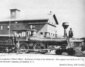 Rochester and State Line Railroad - Image: Rochester And State Line 1
