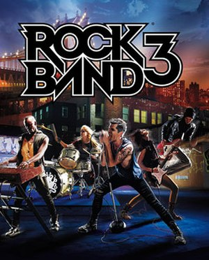 Rock Band 3 - Image: Rock Band 3 Game Cover