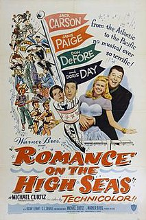 <i>Romance on the High Seas</i> 1948 film by Michael Curtiz