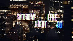 Saturday Night Live (season 40) - Image: SNL season 40 title card