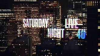 Saturday Night Live (season 40) - Image: SNL season 40 title card