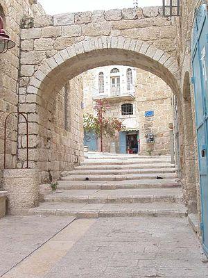 Beit Sahour - Lane in Beit Sahour