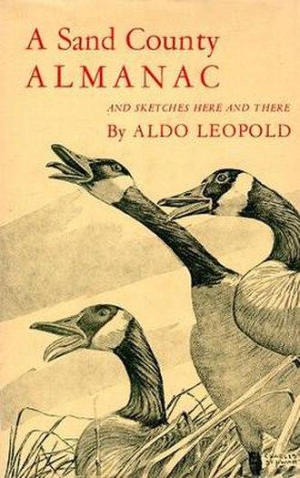 A Sand County Almanac - First edition