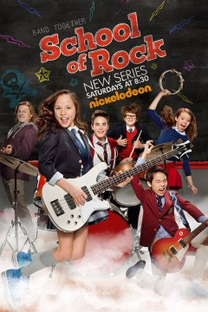 School of Rock (TV series) - Promotional poster