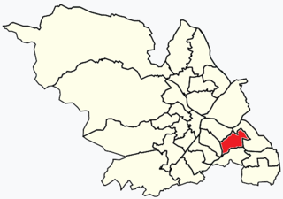 Richmond, Sheffield Suburb and electoral ward in the City of Sheffield, South Yorkshire, England