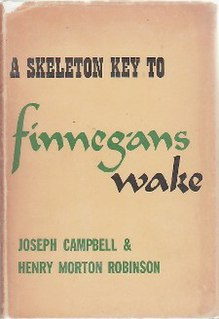 <i>A Skeleton Key to Finnegans Wake</i> book by Joseph Campbell