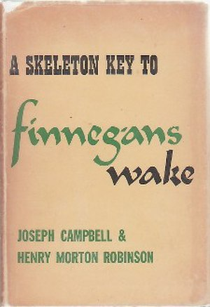 A Skeleton Key to Finnegans Wake - Cover of the first edition