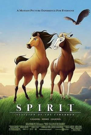 Spirit: Stallion of the Cimarron - Theatrical release poster