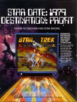 Star Trek (1979 pinball) - Wikipedia