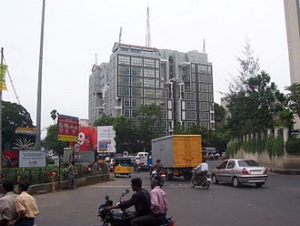 Nungambakkam - Sterling road junction, Nungambakkam