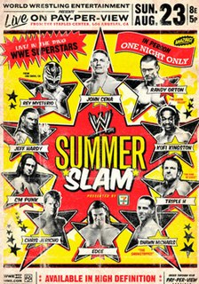 SummerSlam (2009) 2009 World Wrestling Entertainment pay-per-view event