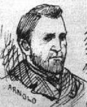 Thomas Arnold (police officer) - Thomas Arnold in 1888