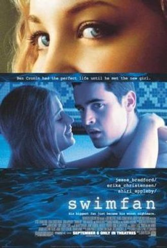 Swimfan - Theatrical release poster