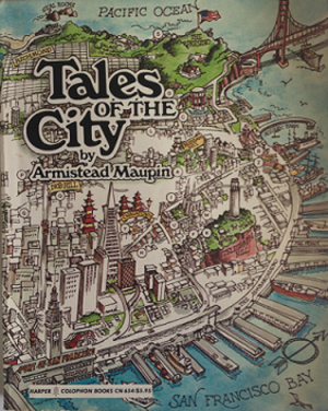 Tales of the City - United States first edition cover of the first book in the Tales of the City series