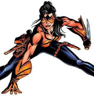 Tarantula (DC Comics) - Image: Tarantulaflores