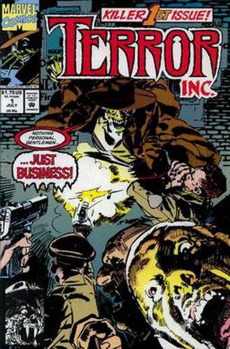 Terror Inc. - Image: Terror Inc 01 cover