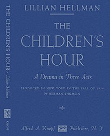 The Childrens Hour Play Wikipedia