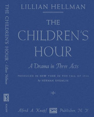 The Children's Hour (play) - First edition 1934
