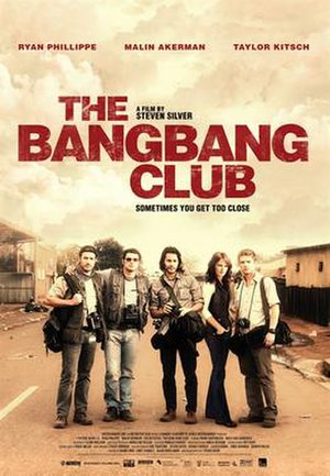 The Bang Bang Club (film) - Theatrical release poster