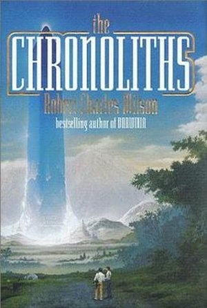 The Chronoliths - Cover of first edition (hardcover)