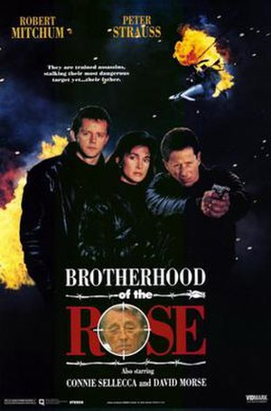 "Brotherhood of the Rose (mini-series) - ""Brotherhood of the Rose"" DVD Cover"
