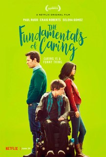 <i>The Fundamentals of Caring</i> 2016 film by Rob Burnett