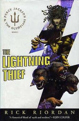 The Lightning Thief - First edition cover