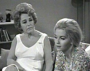 Thelma Scott - Thelma Scott as Claire Houghton and Abigail as her daughter Bev in Number 96.