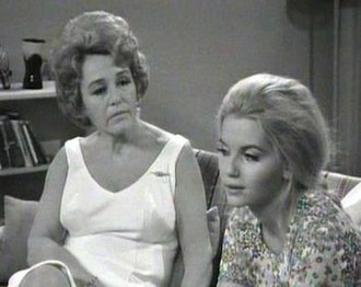 Number 96 (TV series) - Thelma Scott as Claire Houghton and her on-screen daughter Bev Houghton, played by Abigail