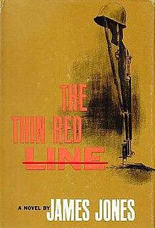 <i>The Thin Red Line</i> (novel) novel by James Jones