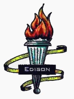 Thomas A. Edison High School (Queens) - Image: Thomas Edison HS LOGO
