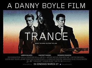 Trance (2013 film) - UK release poster