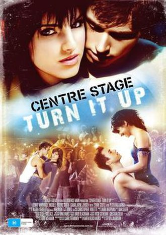 Center Stage: Turn It Up - Promotional poster