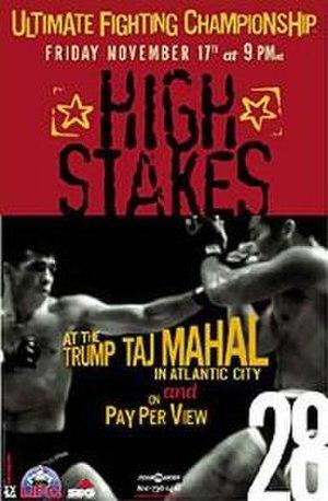 UFC 28 - Image: UFC 28 High Stakessdd
