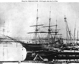 USS Supply (1846) - Image: USS Supply (1846)