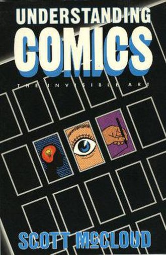 Understanding Comics - Cover of the original Tundra Publishing edition of Understanding Comics: The