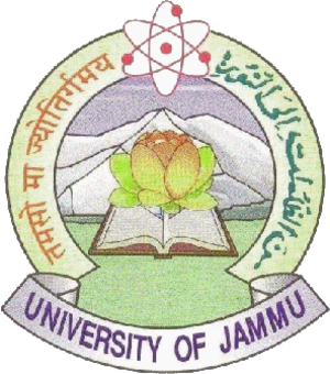 University of Jammu - Image: University of Jammu logo