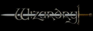 Wizardry - The series logo