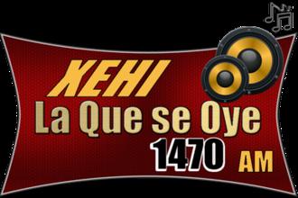 XEHI-AM - Image: XEHI 1470AM logo