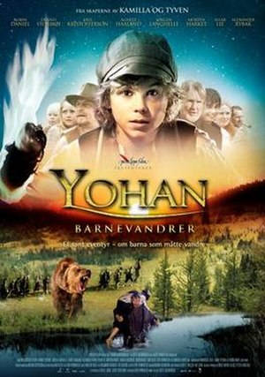 Yohan: The Child Wanderer - Norwegian theatrical poster
