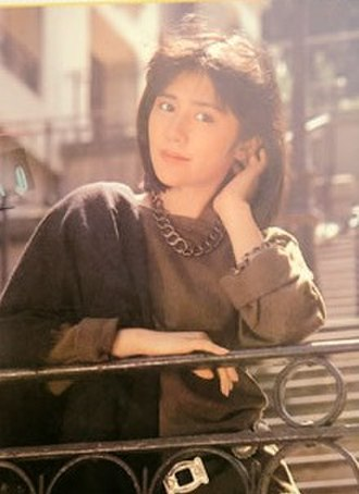 Yoshiko Tanaka - Yoshiko Tanaka promoting her album Yoshiko in 1984.